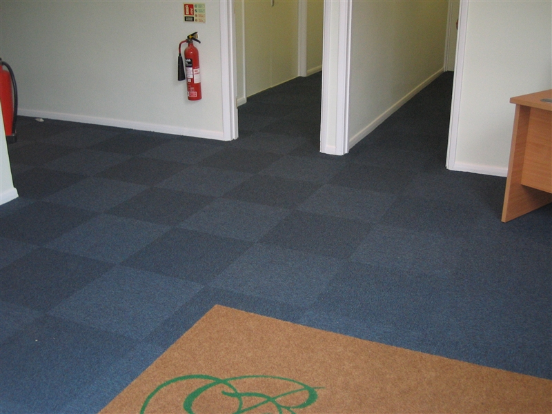Entrance matting with logo for Contract flooring